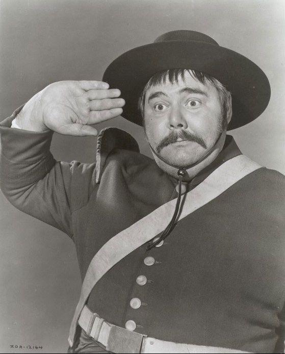 Henry Calvin as 'Sergent Garcia' in Zorro