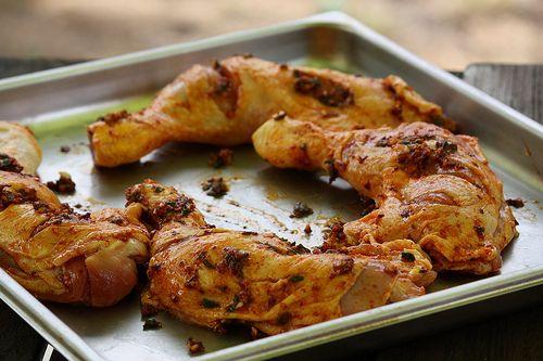Poulet mariné à lespagnole à la plancha 25 volaille cuisine espagnole