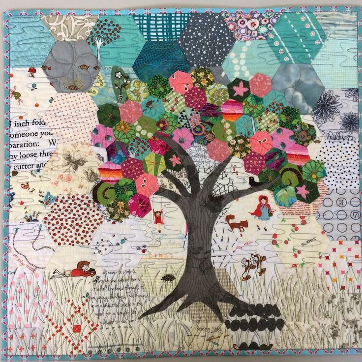another pinner said:  So pretty. What great potential for using a variety of fabrics.