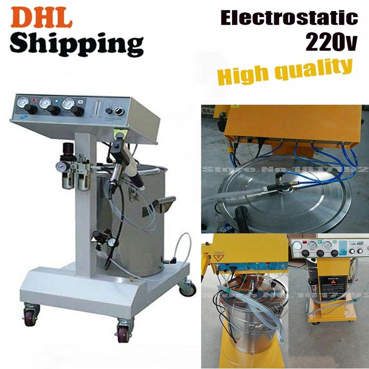 (625.10$)  Buy here  - DHL ship Electrostatic Powder Coating machine,Electrostatic Spray Powder Coating Machine Spraying Gun Paint,powder paint AC 220v