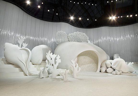 #PRO | #Show | Décoration éphémère | Ephemeral #decoration | #Visual_merchandising [Chanel]