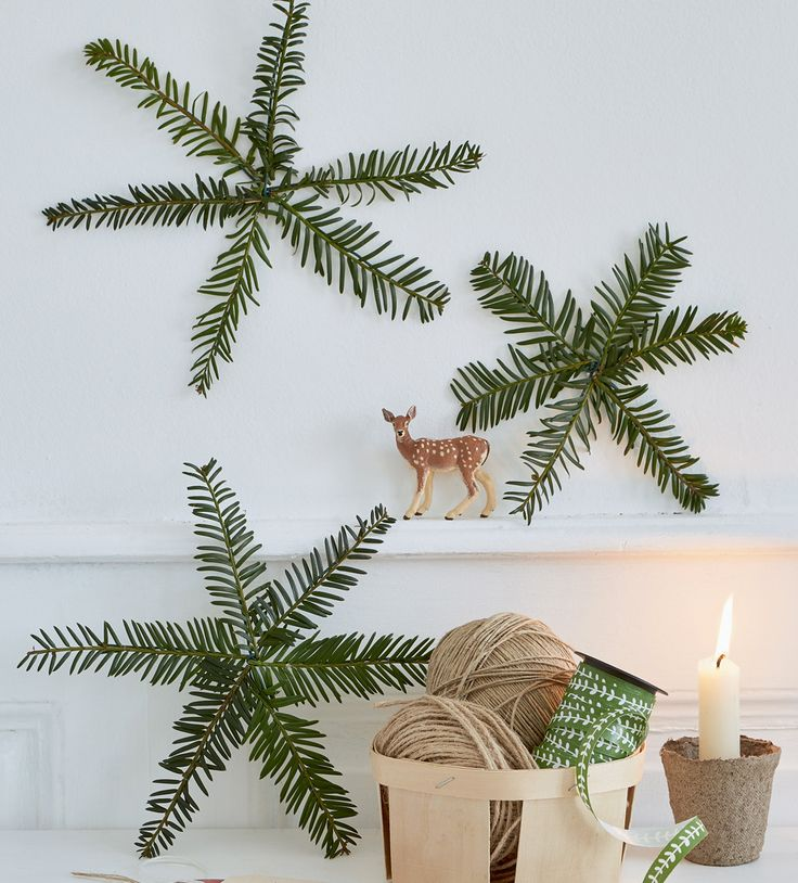 DIY Noël : 6 idées à faire avec des branches de sapin - Marie Claire Idées