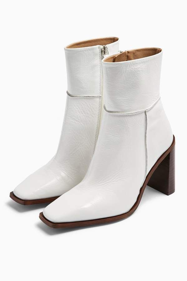 HERO Leather White Boots | Boots, White