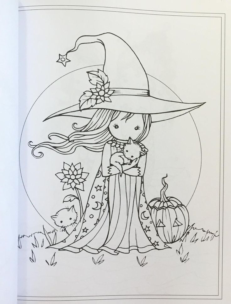 Whimsical World #2 Coloring Book: Fairies, Mermaids, Witches, Angels and More…