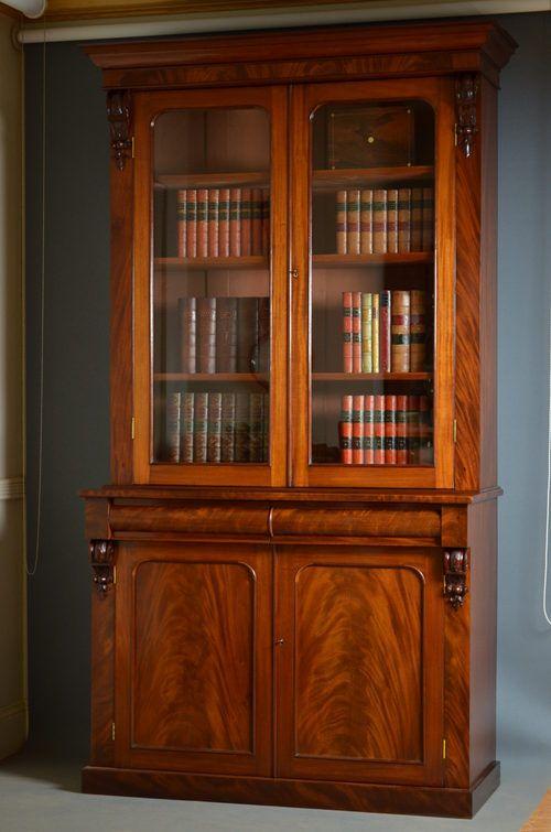 victorian bookcases for sale | Victorian Bookcase - Antiques Atlas
