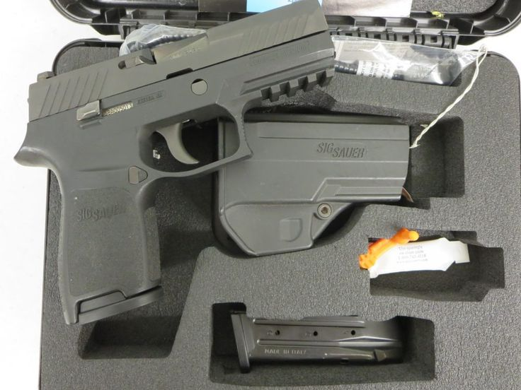 Used Sig Sauer P320 Compact 9mm w/ night sights, case and extra magazine  $495 - http://www.gungrove.com/used-sig-sauer-p320-compact-9mm-w-night-sights-case-and-extra-magazine-495/