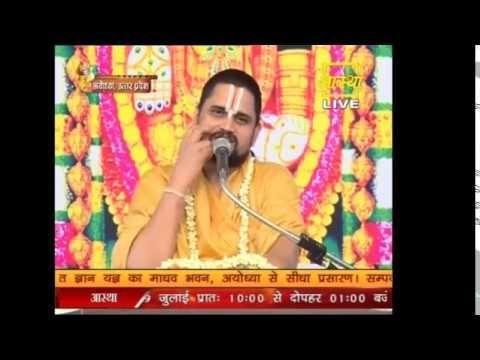 Watch Live! | Sri Dharacharya Ji | Sri Mad Bhagavat Katha