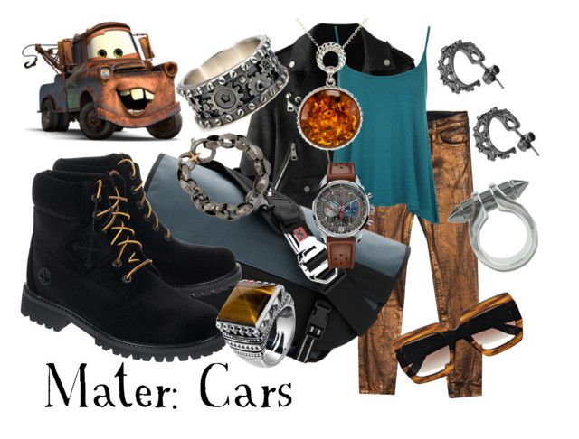 """Mater"" by sugarsop on Polyvore featuring Current/Elliott, Chrome Industries, WearAll, Off-White, Stephen Webster, Plukka, Co.Ro, Zenith, Thomas Sabo and Be-Jewelled"