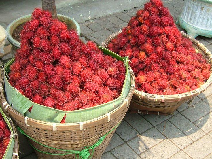 Rambutan Fruit--Is it cute & sweet or what?
