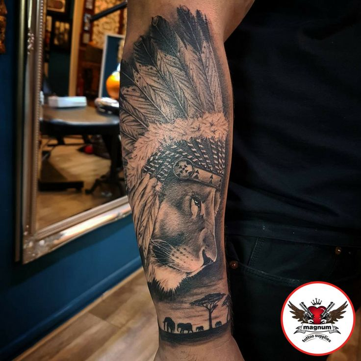 Fantastic black and grey tattoo from Lord Nelson using #magnumtattoosupplies