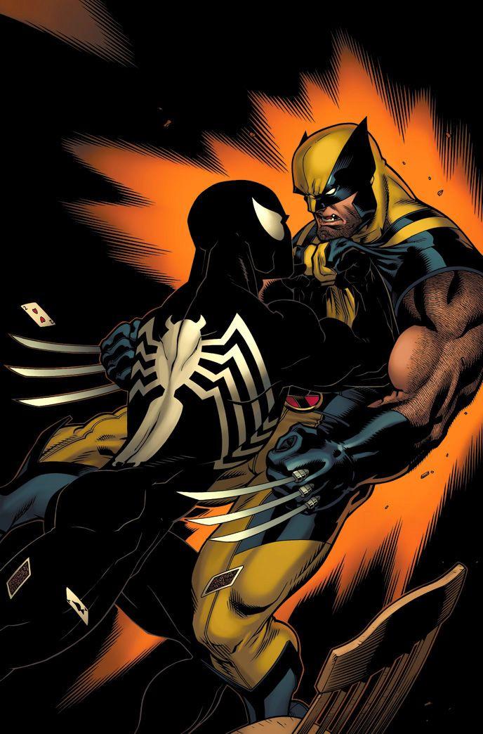 Venom vs Wolverine | Spiderman/Peter Parker & his amazing ...
