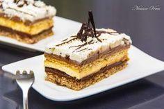 Prajitura Kinder Bueno, o prajitura delicioasa pe care cu siguranta o vei adora.Prajitura Kinder Bueno se incepe prin prepararea blatului : separam albusurile de