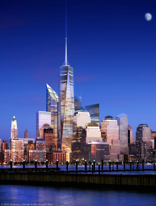 NYC. Freedom Tower and new skyline