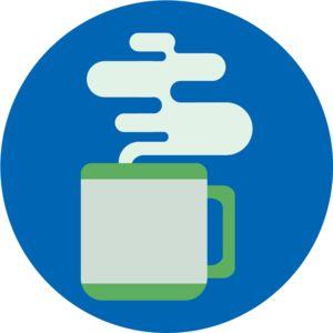 Mug   Design   Flat   Icon   Illustration   Coffee   Tea   Steam   Kayla Folino