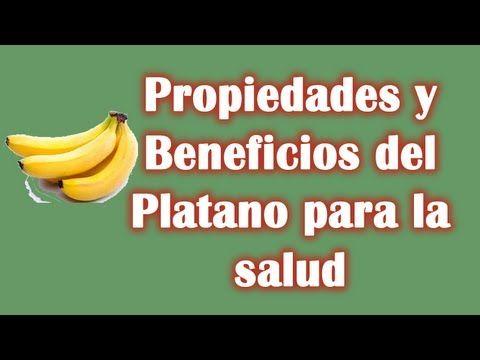 Mira Los Beneficios del Platano para la salud.  Visita nuestro canal: https://www.youtube.com/user/LaHierbasMedicinales
