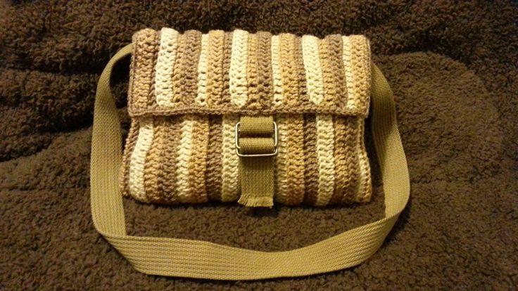 #Crochet Handbag Purse Bag Shoulder Bag #TUTORIAL