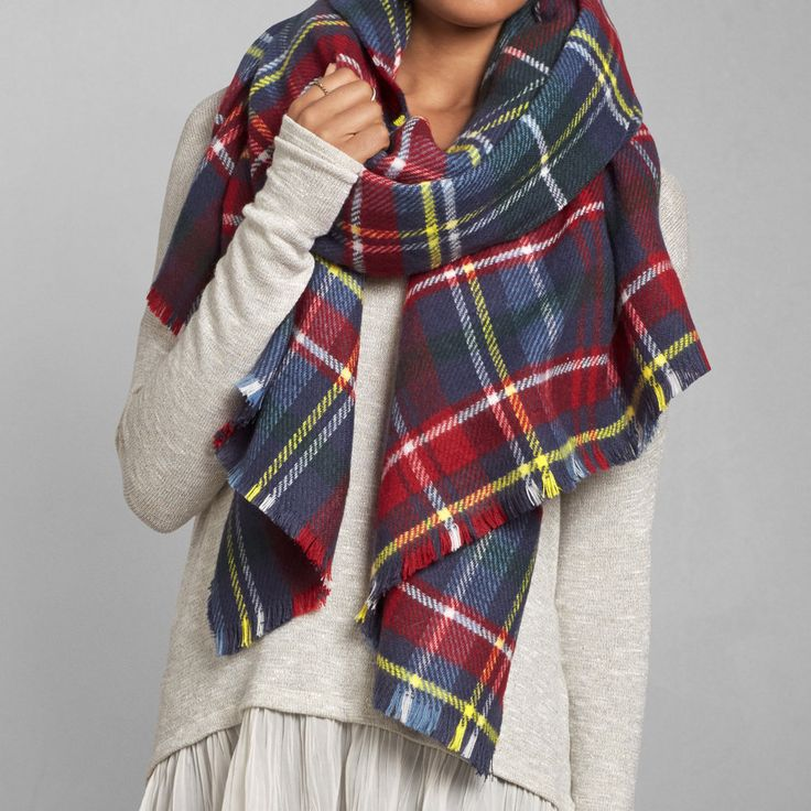 Womens The Blanket Scarf | Womens Accessories | Abercrombie.com