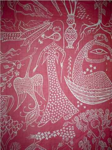 """Poeme d'Amour"" pattern by Swedish designer Stig Lindberg (1916-1982). via precis en san antik forum"