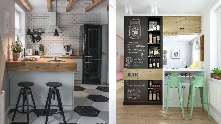 Come organizzare una cucina piccola: 15 idee che vi ...