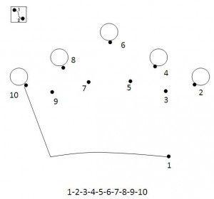 dot to dot crown worksheet
