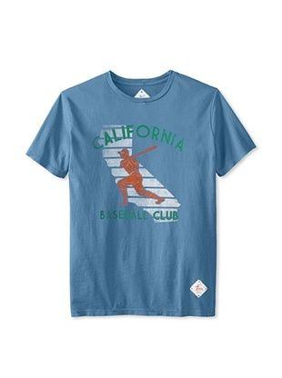 58% OFF 7th Inning Stretch Men's Cali Baseball T-Shirt (Blue)