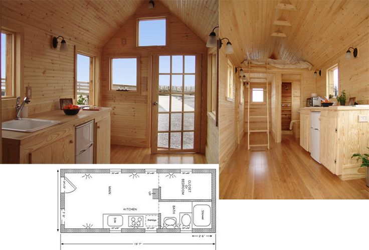 Inside small houses tiny texas houses below jay shafer s for Outer look of house design