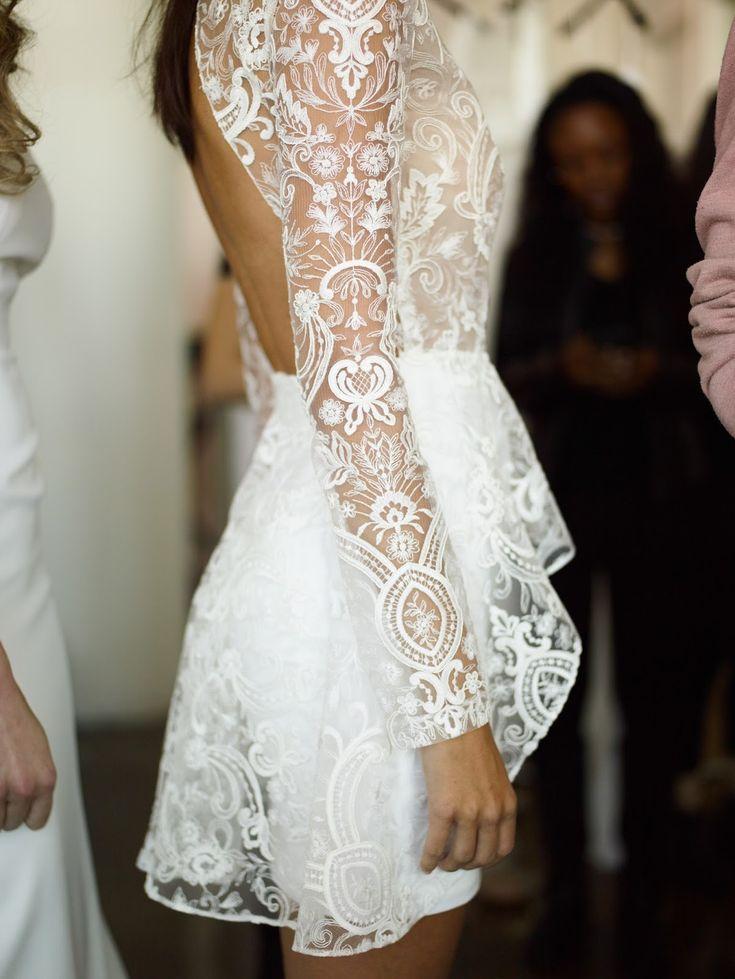 Backstage: Rime Arodaky (New York Bridal Week) - My Valentine Greg Finck Photo