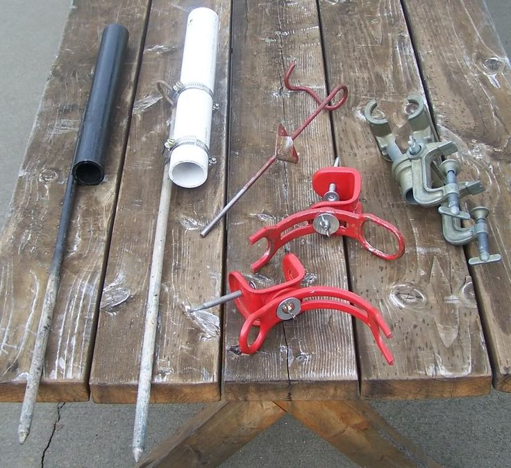 1000 ideas about fishing rod stand on pinterest fishing for Homemade fishing rod holders