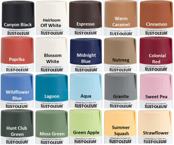 25 Best Ideas About Rustoleum Spray Paint Colors On Pinterest Painting Plastic Furniture