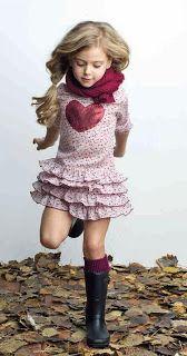 Ropa niña colección Primavera Verano 2014 en http://www.paranenesynenas.es