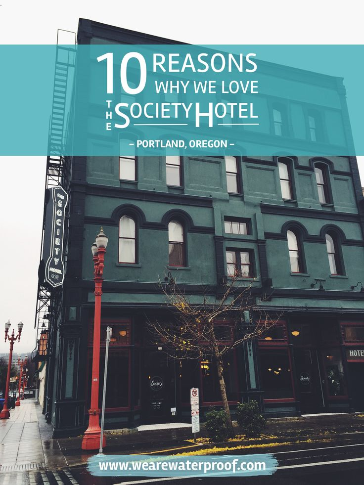 10 Reasons Why We Love The Society Hotel [Portland, Oregon] - Over the weekend, Erinn & I drove down to PDX to celebrate our 3 year anniversary. We booked our stay at The Society Hotel via HotelTonight and we loved it! >> Click through to read the full post!   www.wearewaterproof.com