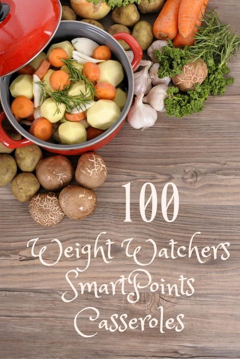 100 WW SmartPoints Casseroles can make your meal plans easy! Plan your Weight Watchers menus today.