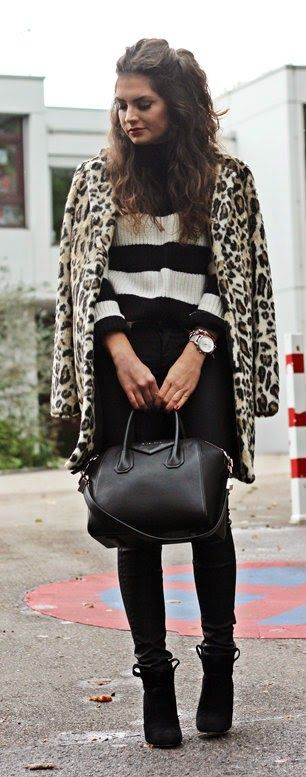 the perfect leo coat by Pepe Jeans