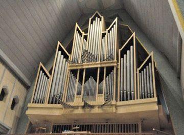 1965 Casavant in Basilique de Notre Dame du Cap, Cap-de-la-Madeleine, Trois-Rivières, Québec