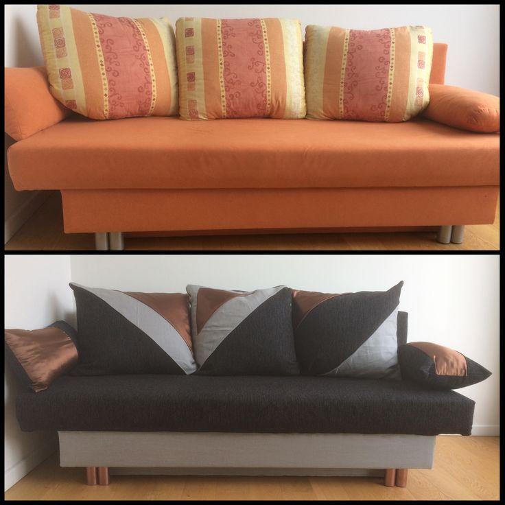 Aus Alt Mach Neu Sofa Beziehen Stoff Kupfer Design Indesign Modern
