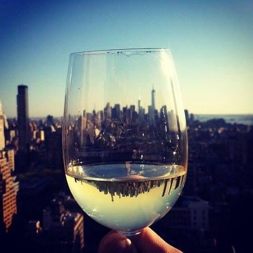 Cheers! New York.
