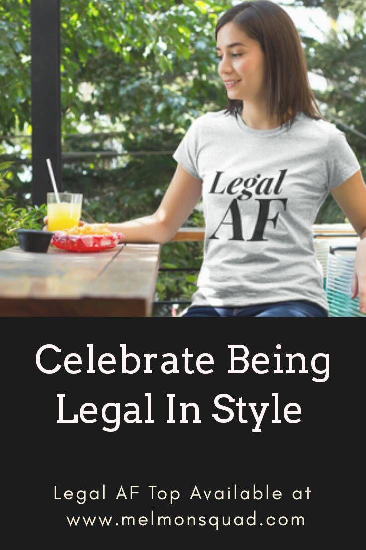 21st Birthday Shirt, Legal AF, 21st Birthday Gift, Finally Legal, 21st Birthday Ideas, Happy 21st Birthday, 21st Birthday Party, Finally 21 by MelmonSquad on Etsy