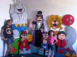 Resultado de imagen para imagenes de decoracion de circo