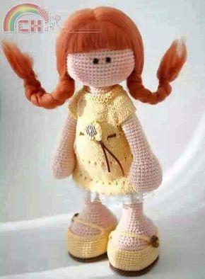Bambole Schema Gratis Amigurumi Crochet Tutorial Uncinetto Bambini