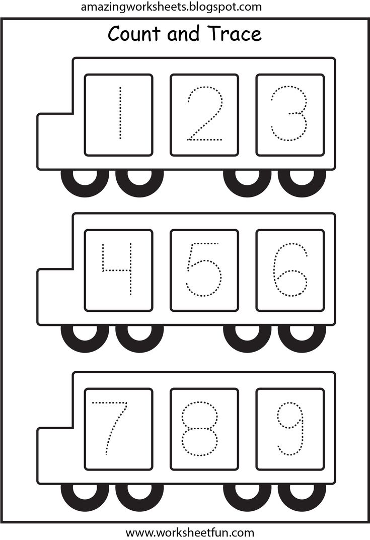 Bus - Number tracing 1-9