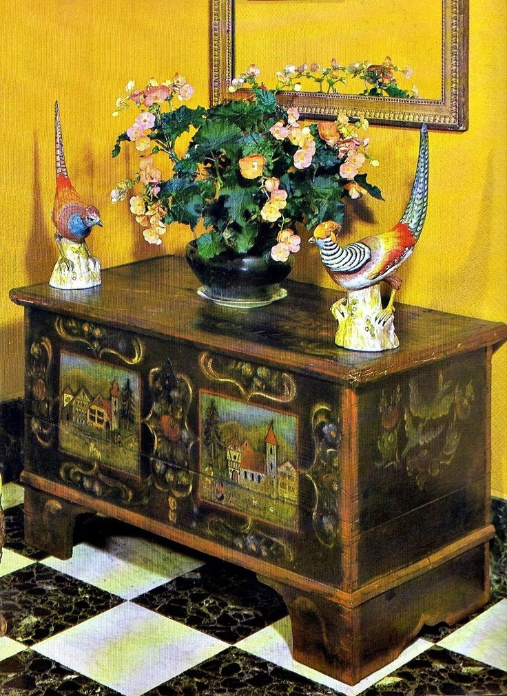 1000 Images About Decorated Furniture On Pinterest Folk