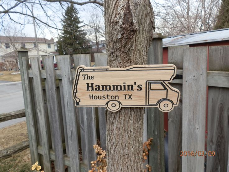 RV Camping,Motor home shaped, personalized carved wooden sign is at a great price. Shop now before they're gone in a flash! Visit - https://www.etsy.com/listing/289214107/custom-carved-wooden-sign-for-rv?utm_source=mento&utm_medium=api&utm_campaign=api #toys
