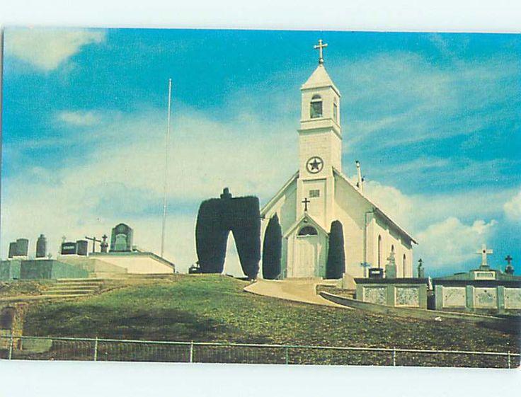 Unused Pre 1980 Church Scene Jackson California CA L3443 | eBay