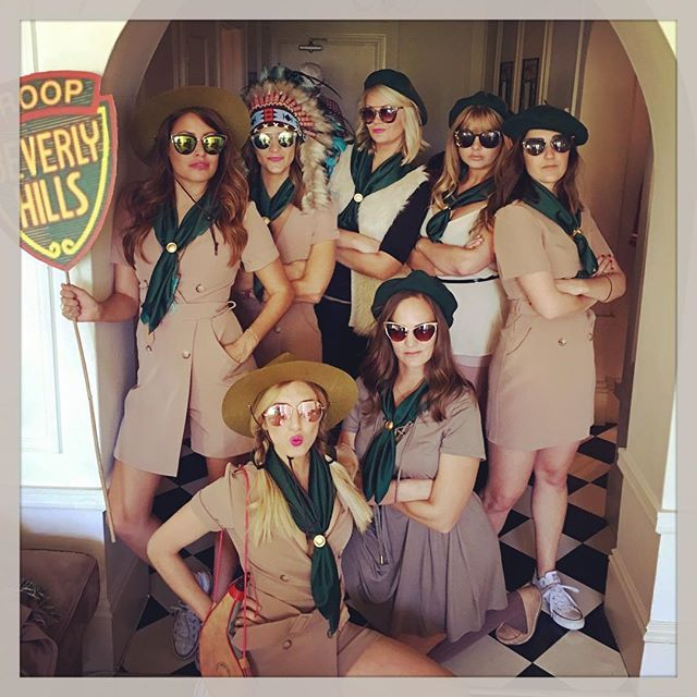 Pin for Later: 27 Costumes For 30-Somethings That Won't Break the Bank Troop Beverly Hills