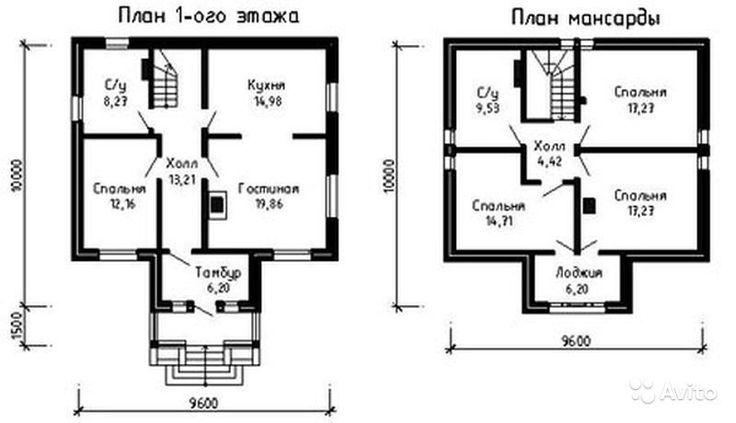 план небольшого удобного двухэтажного дома: 19 тыс изображений найдено в Яндекс.Картинках