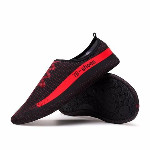 This Unisex Stretchable Outdoor Shoes are fashioned with Flyknit Fabric and Elastic MD sole for more customized fit that ensures excellent breathability and lightweight support. These unique soles also have good abrasion resistance and slip resistance, with unique drainage holes sole to ensure proper water outflow. Ideal for all fitness activities such as golf, hiking, running, tourism, camping, horse riding, driving, walking and etc.