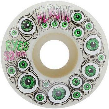 Heroin Eyes Skateboard Wheels - 52mm