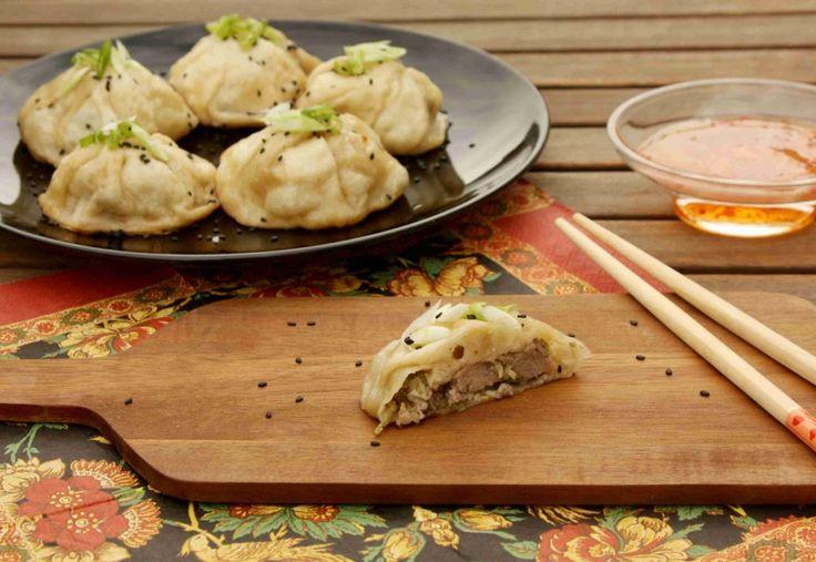 Čínské masové knedlíčky Sheng Jian Bao // Ochutnejte svět - blog mezinárodní kuchyně