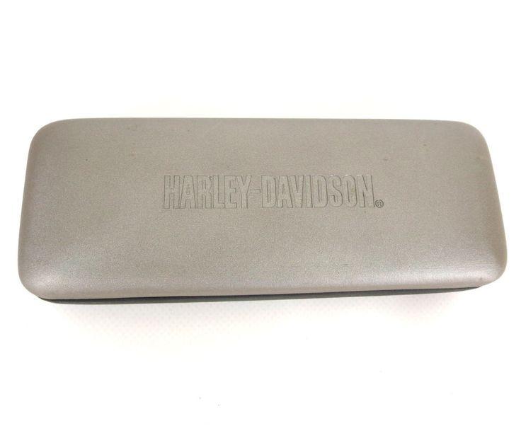 Harley Davidson Sunglasses Rubberized Nikevision Eyeglass Hard Clam Shell Case #HarleyDavidson