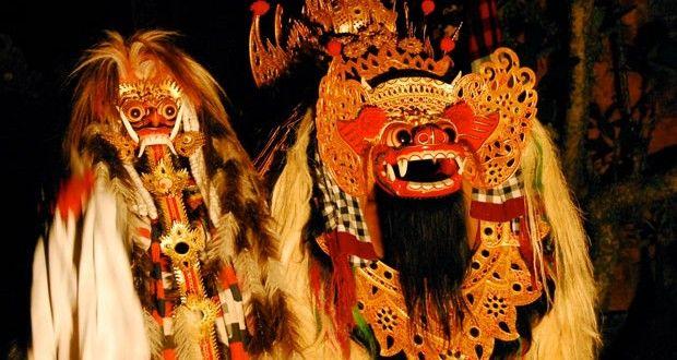 Barong & Rangda - Bali Two Opposites Symbols
